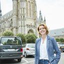 Emmily Talpe, burgemeester Ieper. Foto: Stad Ieper