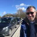 Mohammed, taxichauffeur in Brugge