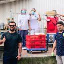 Tek Taxi levert maaltijden aan ziekenhuis