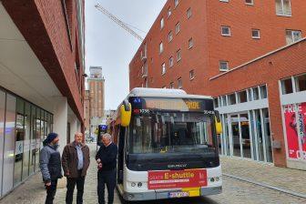 elektrische bus van Multiobus