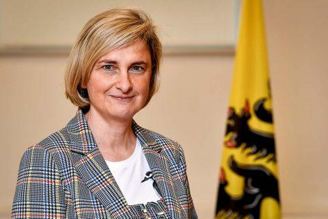 Hilde Crevits, minister van Werk (foto: Vlaamse regering)