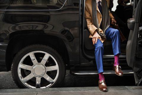 Lyft taxi (bron: Lyft presskit)