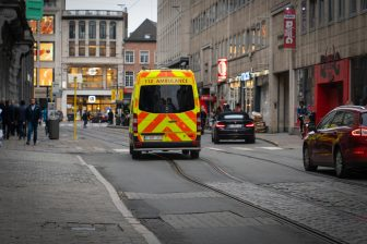 Ambulance Antwerpen. Foto: iStock / Thankful Photography