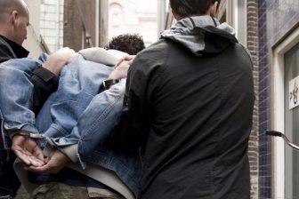 Aanhouding. Foto: politie.nl