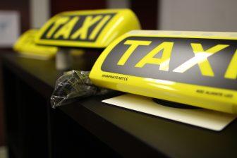 Daklicht, taxibord