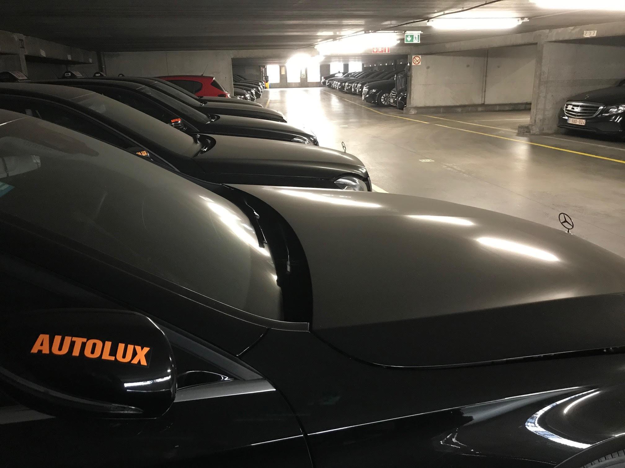 Garage Autolux in Zaventem puilt uit
