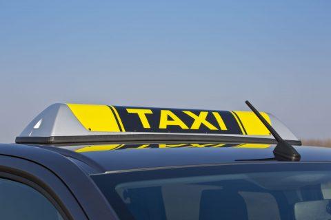 Daklicht taxi