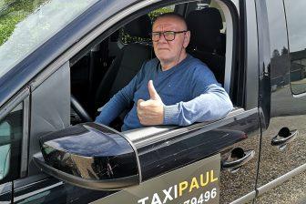 Paul Willems zaakvoerder van Taxi Paul