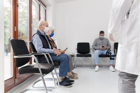 Wachtkamer ziekenhuis. Foto: iStock / Artmann Witte