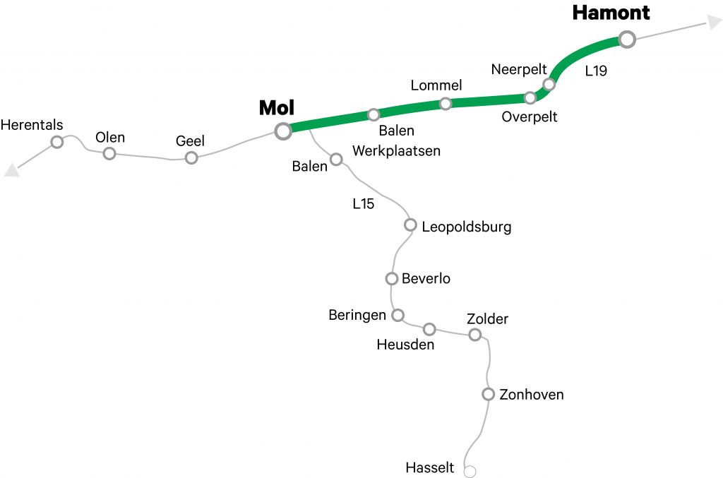 Elektrificatie Limburgs spoor
