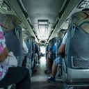 Passagiers touringcar. Foto: iStock / acambium64