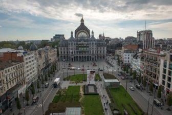 Koningin Astridplein Antwerpen (Bron: Stad Antwerpen)