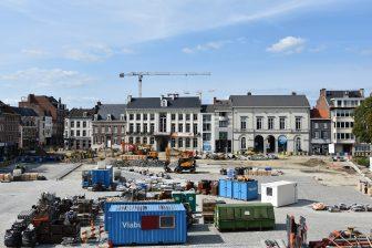 Grote Markt Tienen. Foto: Stad Tienen
